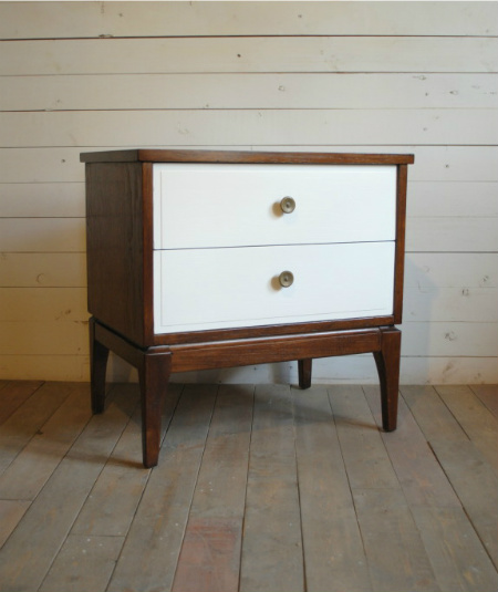 Mid Century Nightstand / End Table