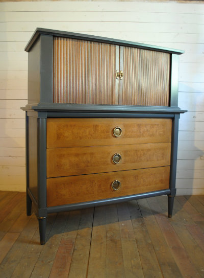 Vintage Mid Century Highboy Dresser Phylum Furniture