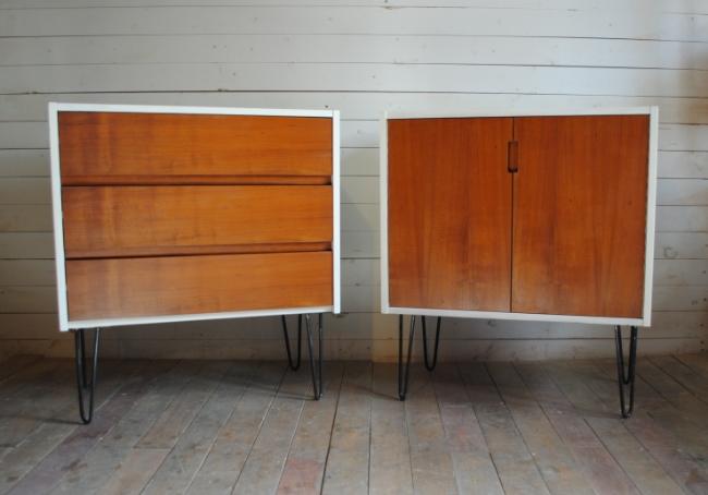 mid century danish modern hairpin leg chests phylum furniture. Black Bedroom Furniture Sets. Home Design Ideas