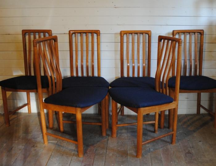 Teak Dining Room Chairs