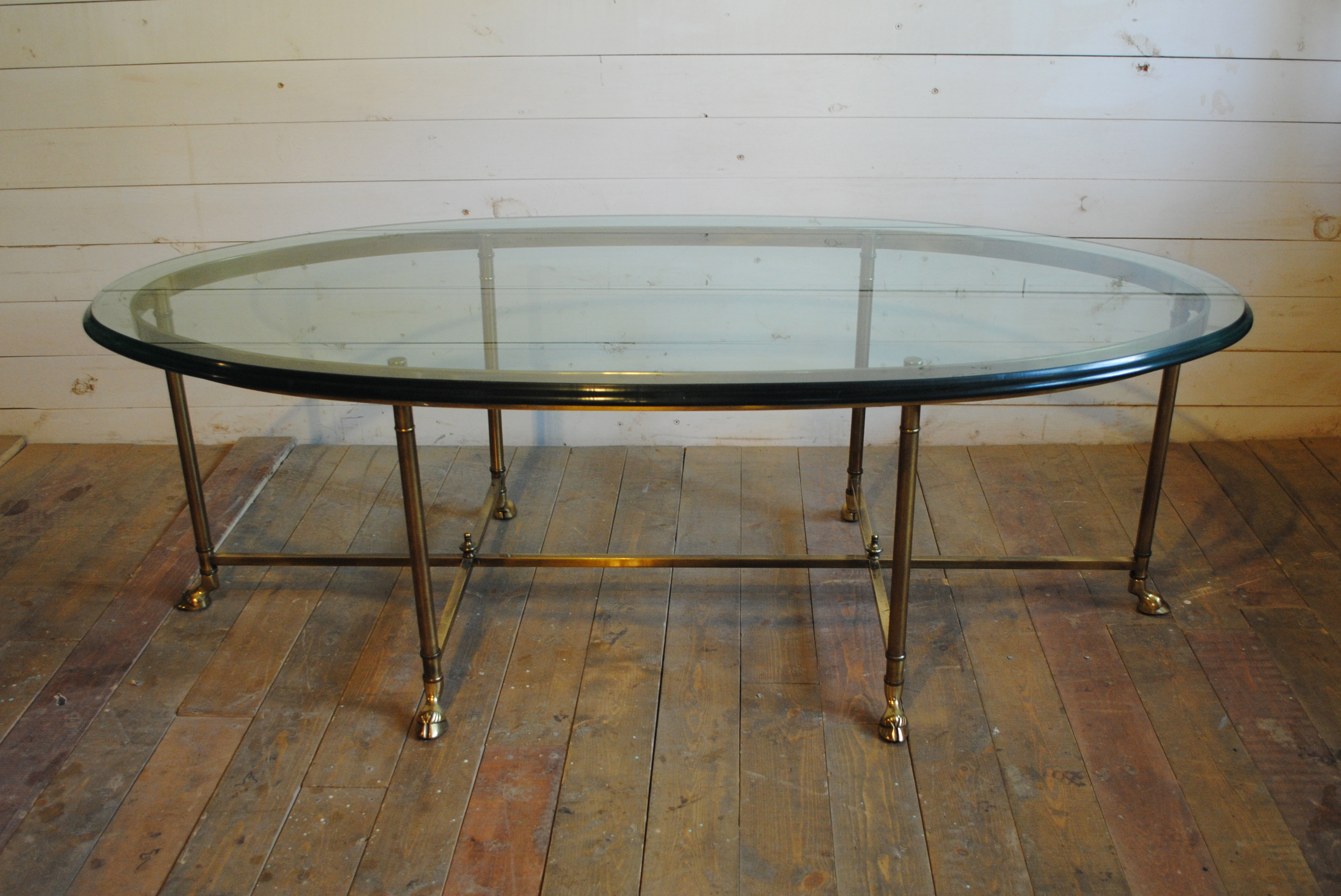 Brass Hoof Foot Coffee Table