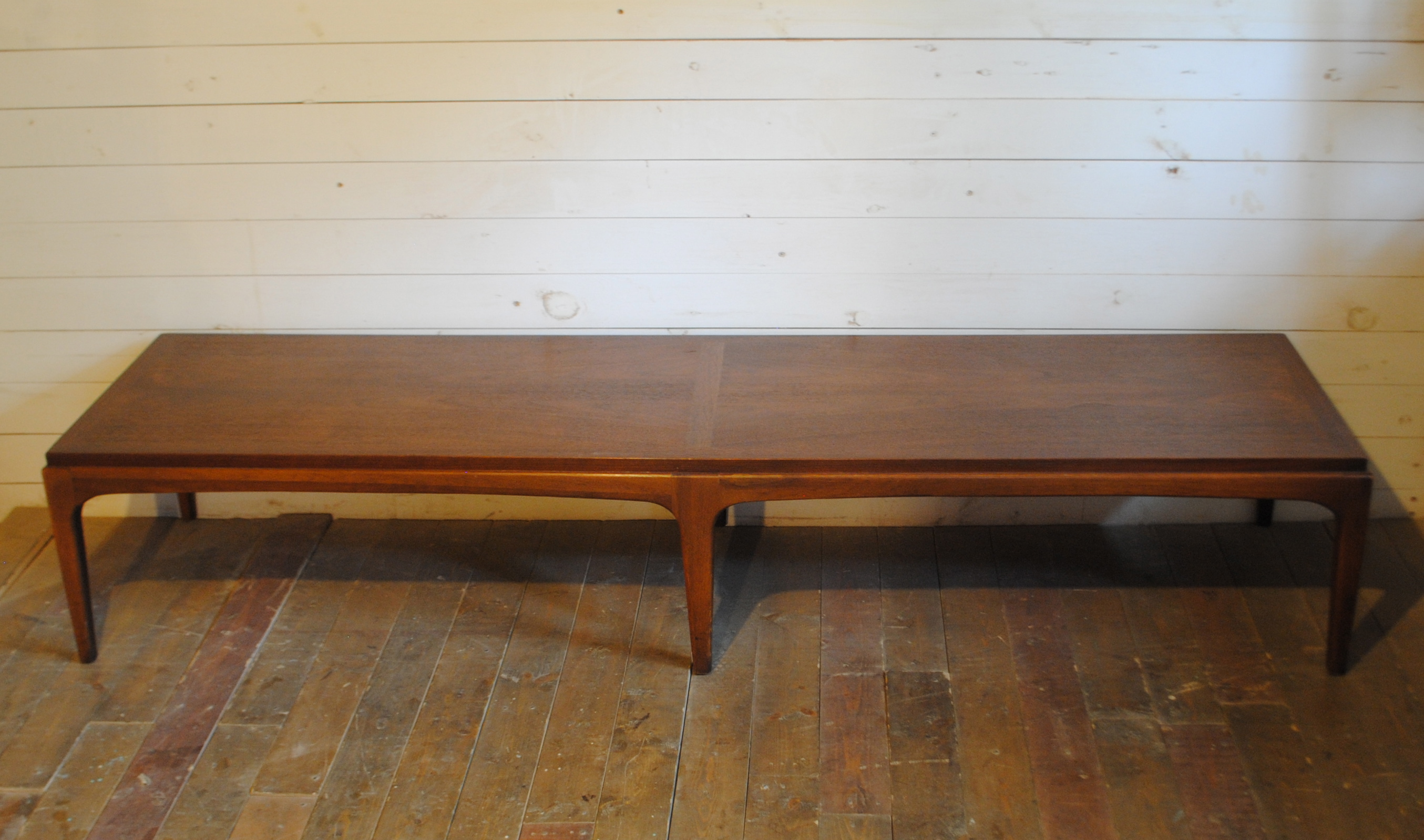 Gentil Mid Century Modern Walnut Coffee Table