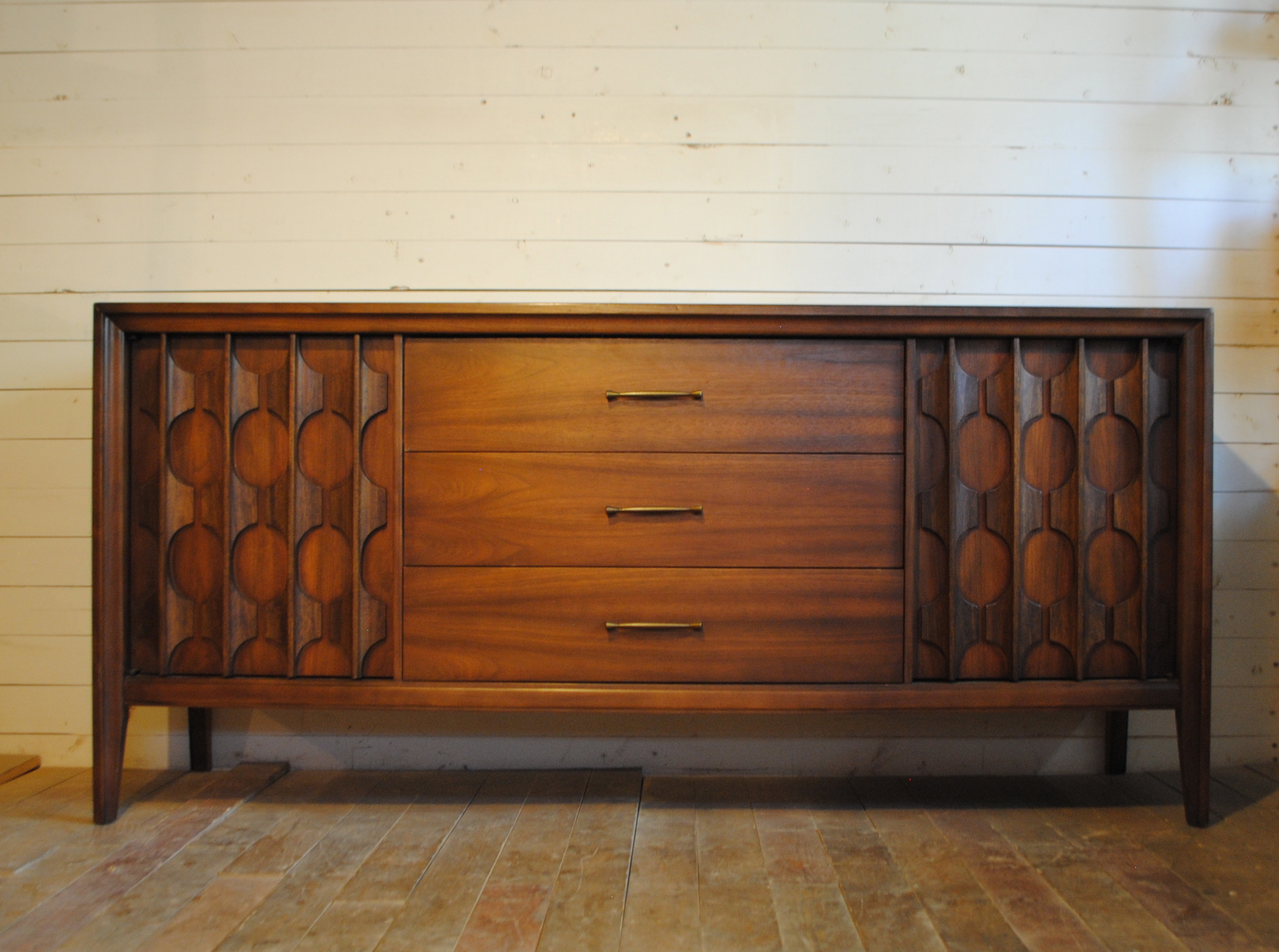 Mid Century Modern Walnut Credenza Phylum Furniture