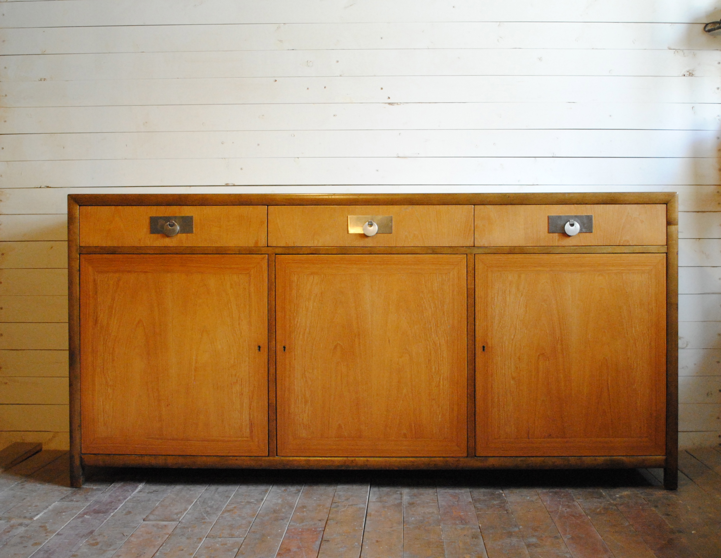 Gorgeous Mid Century Credenza Designed By Michael Taylor For Baker. Back Is  Also Finished. Dimensions Are 66u2033W X 19u2033D X 32u2033H. Please Contact Me With  Any ...