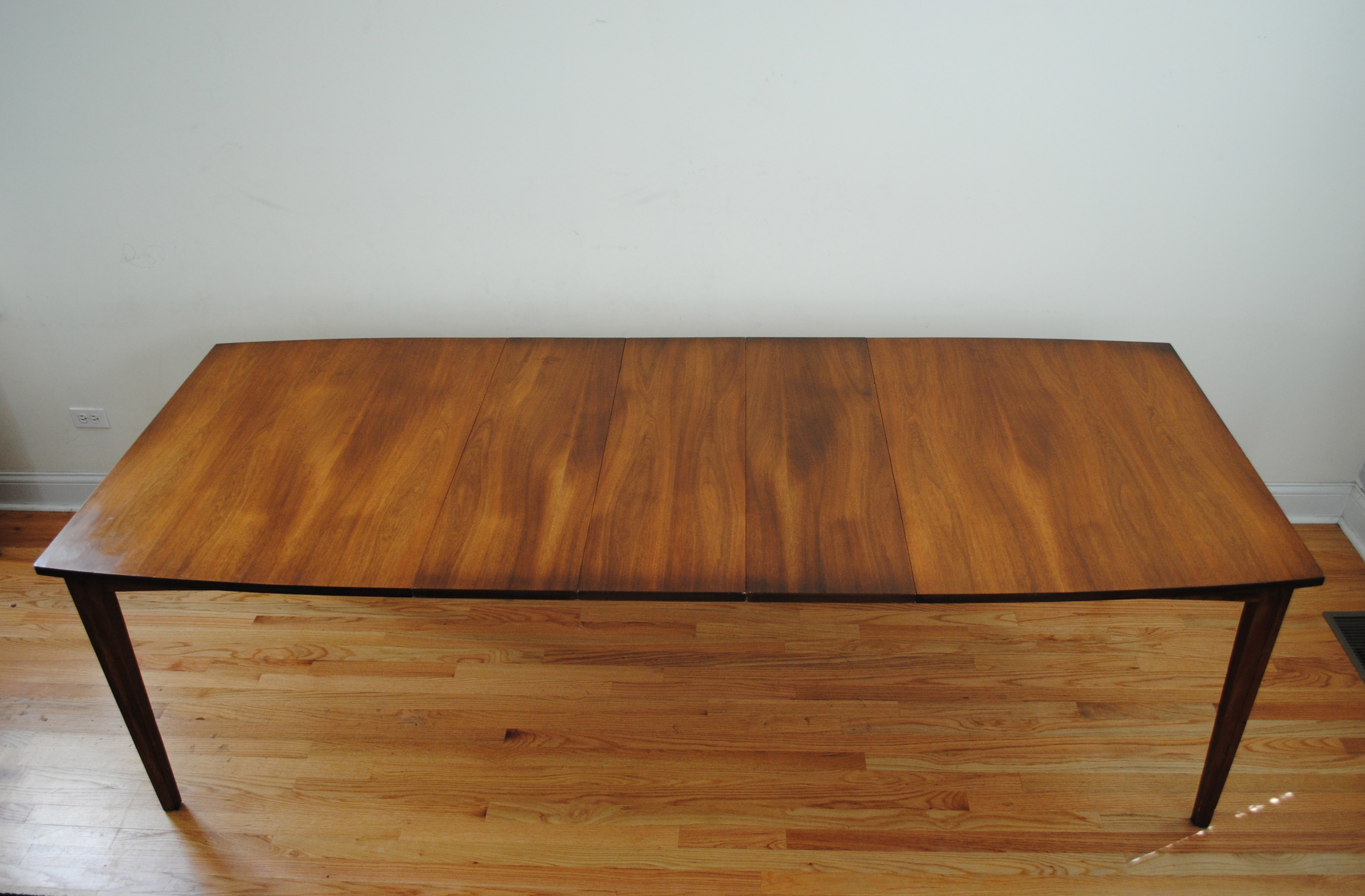 mid century modern dining table. Mid Century Walnut Dining Table Modern T
